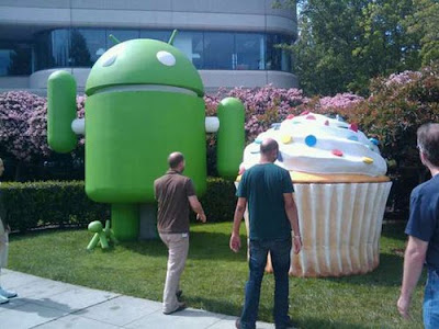 Cupcake, Donut, และก็ Eclair ของขวัญแก่ Android ?