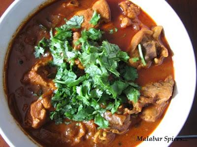 Malabar Spices Nadan Kozhi Curry/ Malabar Chicken Curry