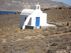 A SMALL CHAPPEL AT AGIOS SOSTIS AREA-MYKONOS