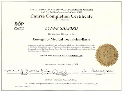 Emt tips page 282 for Basic certificate template