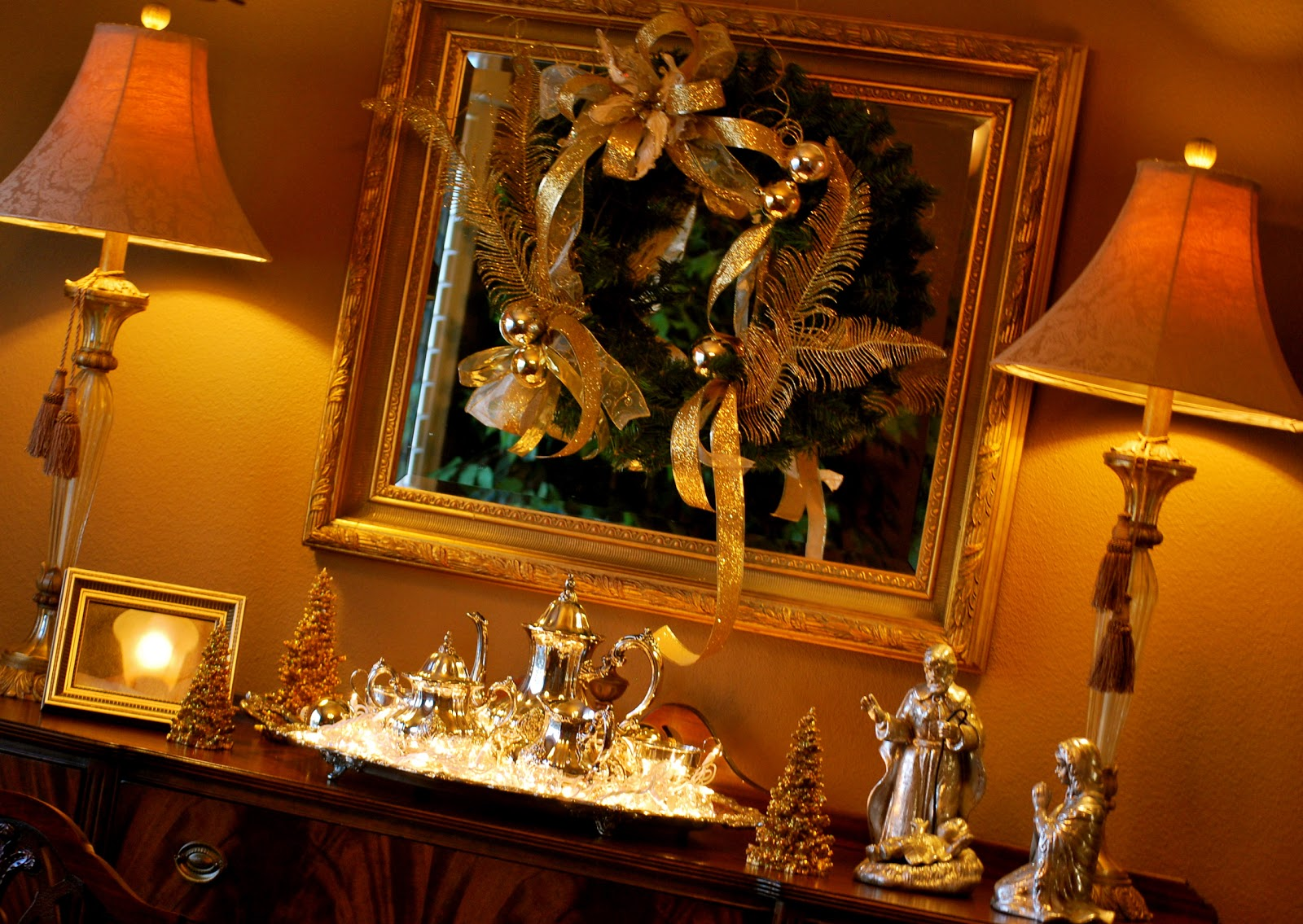 Christmas Dining Room Amanda Jane Brown
