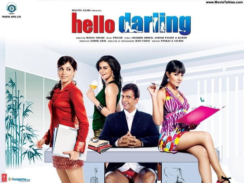 bollywood movies hello darling movie trailer online