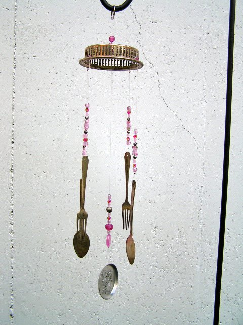 Pink Rose Chimes