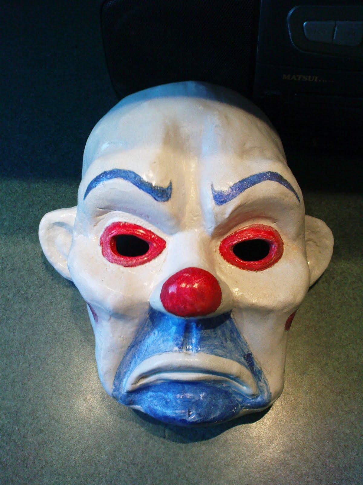 J Darko Joker Bank Heist Mask