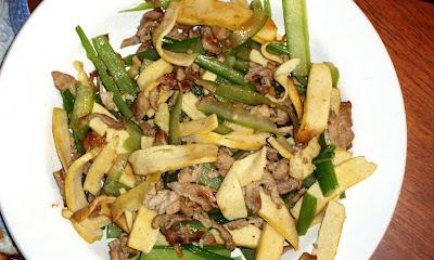 stir-fry celery tofu