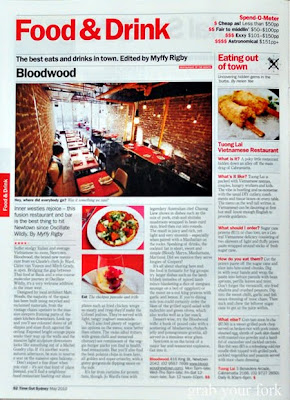 Guess who has their own column in time out sydney grab for Akash pacific cuisine