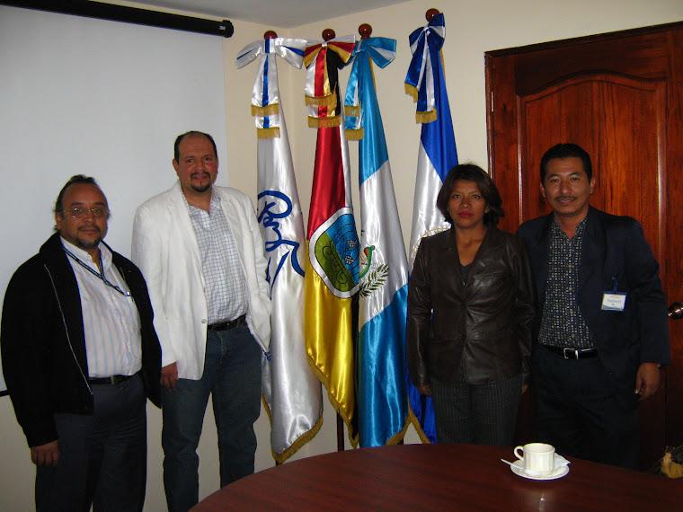 En las Oficinas de la Secretaría de la Paz, República de Guatemala