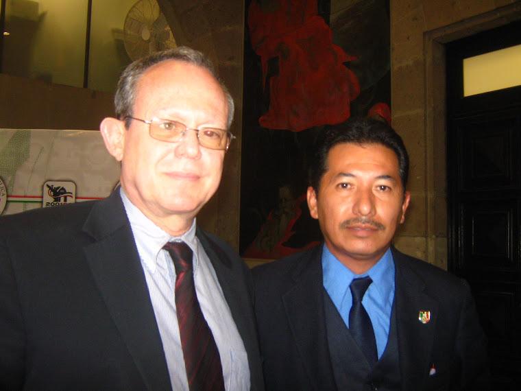 Con el Relator de la ONU