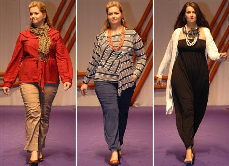moda inverno 2011 para gordas