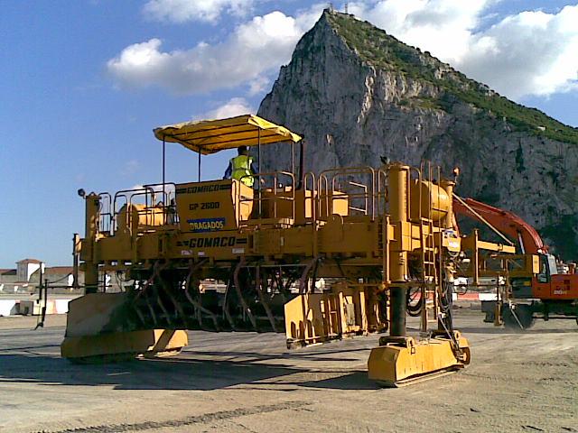 Trabajos en Ampliación Aéreo Puerto Gibraltar