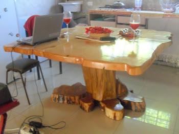 mesa de comedor de 1,40 x 140