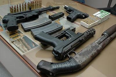 Armas de fuego en Bolivia