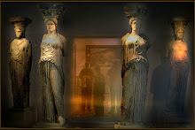 Cariátides.escultura Griega