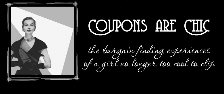 Coupons are Chic