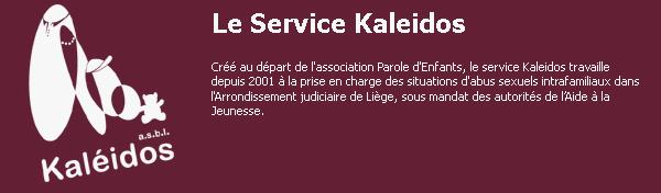 Le service Kaleidos