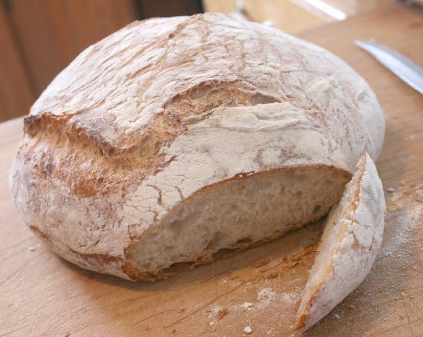 Remodelaholic | Crusty looks... Artisan Bread Recipe