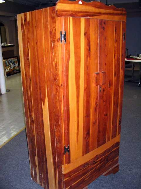 Wardrobe Closet Antique Cedar Wardrobe Closet