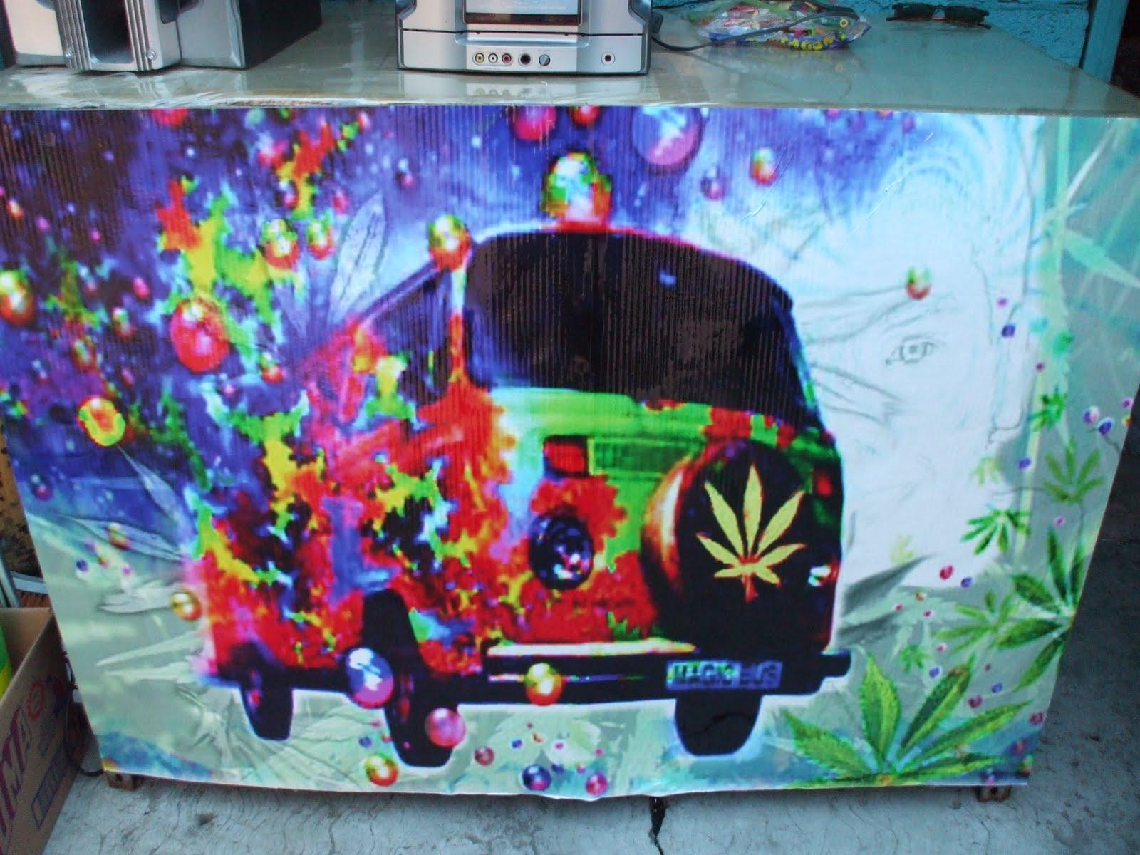 Fiestas Tematicas Fiesta Hippie - Decoracion-hippie-fiesta