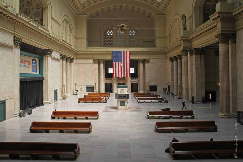 Grand Interiors   Chicago Union Station