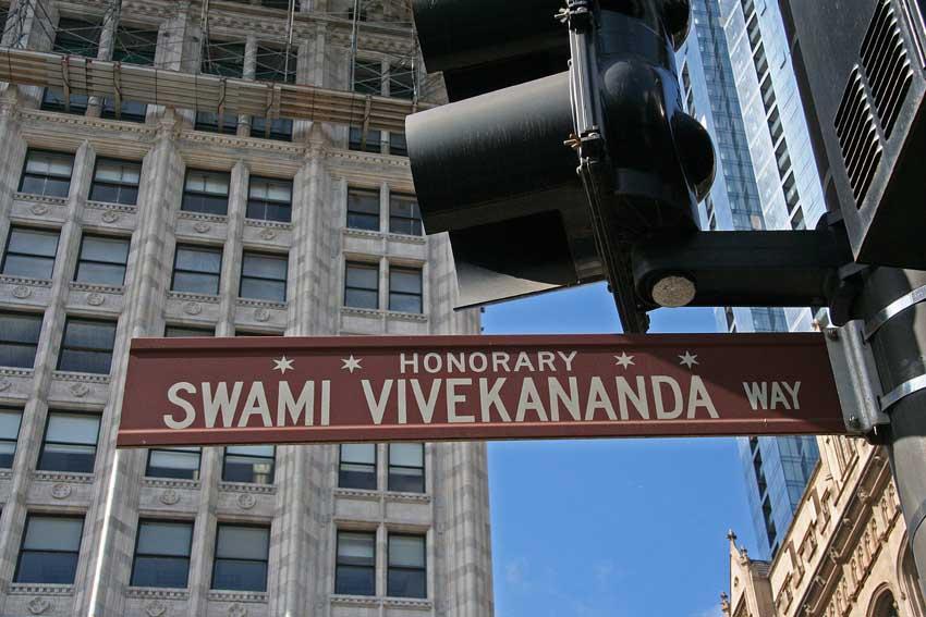 Image result for swami vivekananda way chicago
