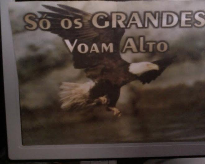 SÓ OS GRANDES VOAM ALTO