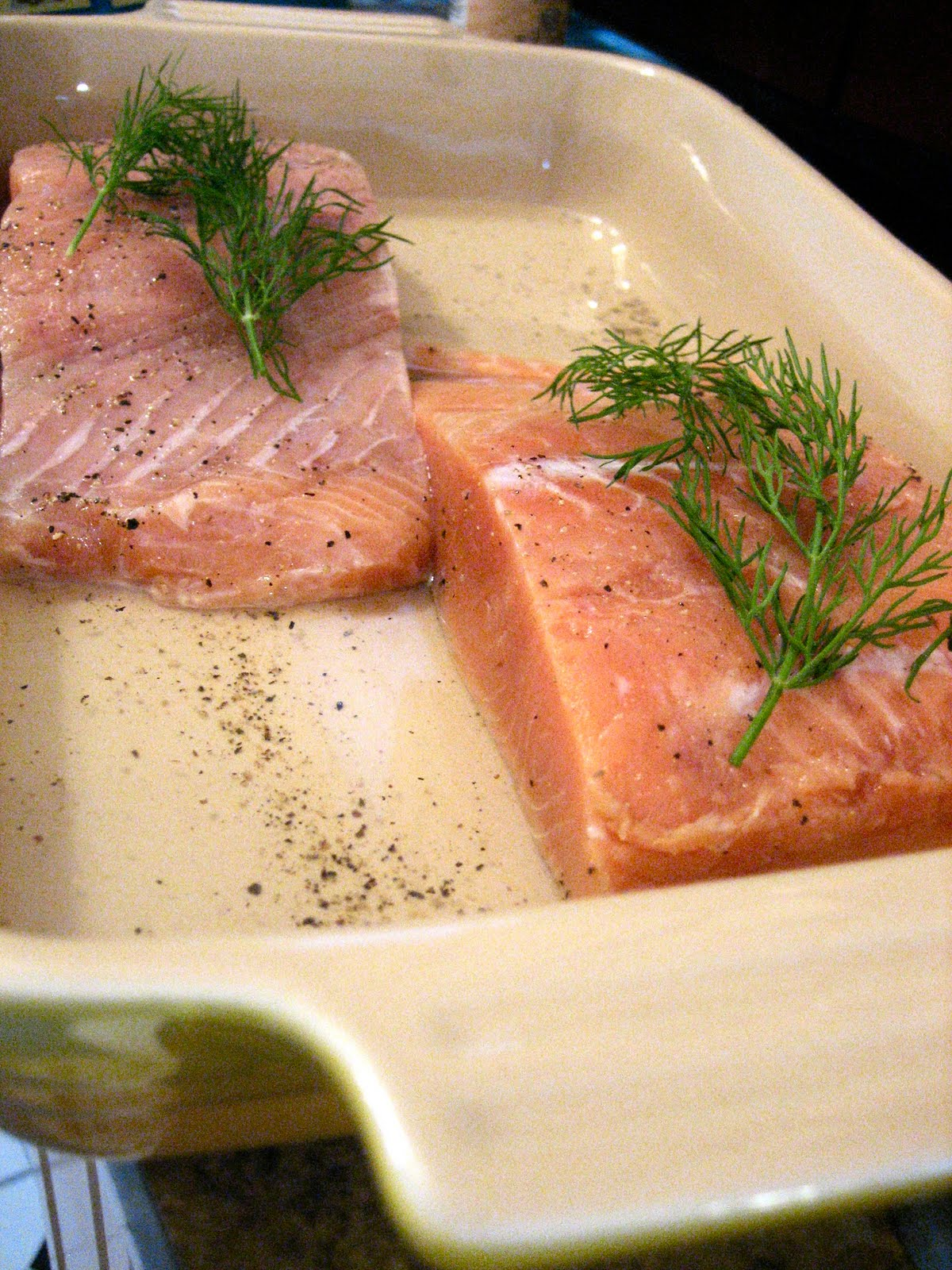 how to cook salmon cutlets in the oven
