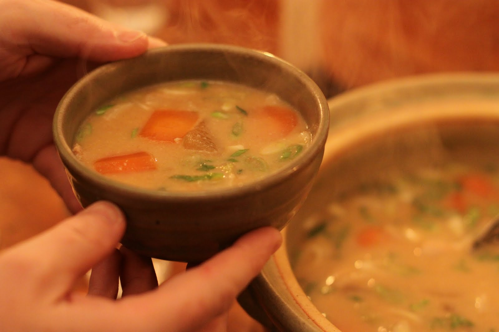 The London Foodie: Tonjiru Soup – Hearty Japanese Miso ...
