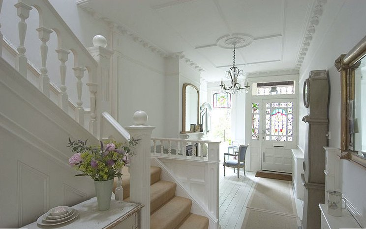 Edwardian house in england inspiring interiors Home hall interior design ideas