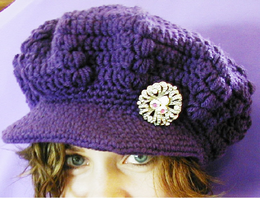 Free Crochet Pattern Toddler Newsboy Cap : Best Knitting Needles Smaller Than Used To Knit Puff ...