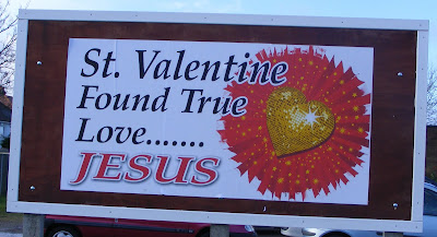 St Valentine found true love...