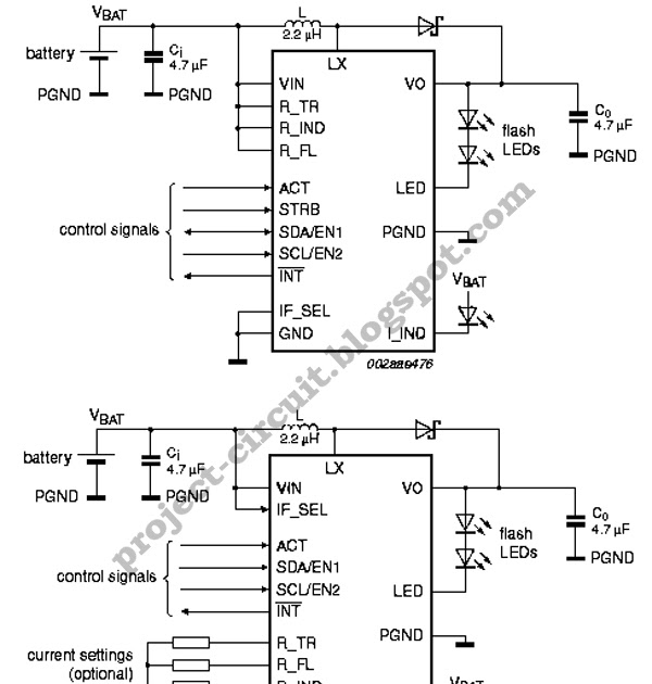 free project circuit diagram ssl3250a photo flash led driver circuit rh project circuit blogspot com
