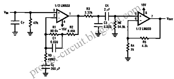 free project circuit diagram  two stage phono pre