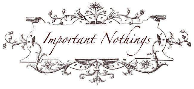 Important Nothings