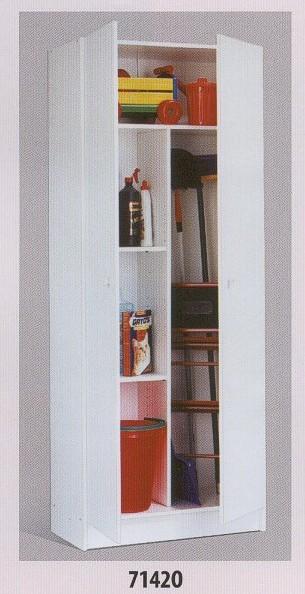 Antes y despues del armario escobero de vanessa - Ikea armario escobero ...