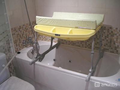 Bañeras para aseos con poco espacio 3: idro baby extraible de cam ...