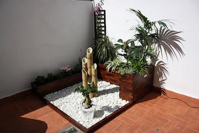 La jardinera de fran - Jardineras con bambu ...