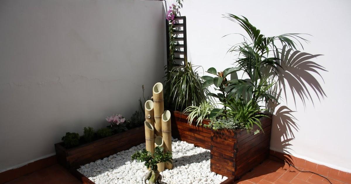 Jardineras de madera decoracion mini terraza for Jardineras de hormigon baratas