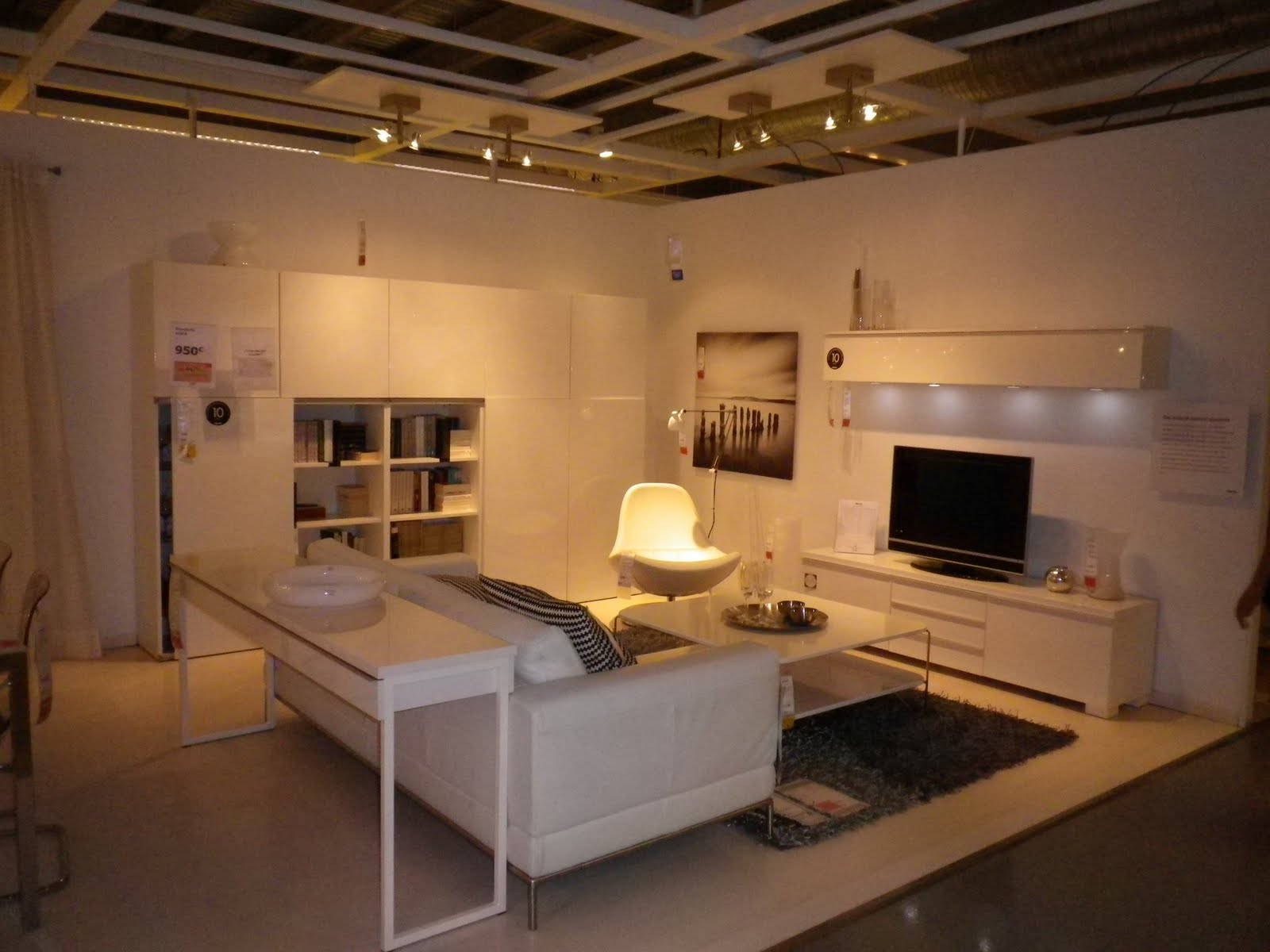Ikea salon besta sammlung von design for Habillage fenetre baie window