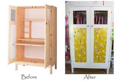 Ikea hack transformar un escritorio en un armario - Armario escritorio ikea ...