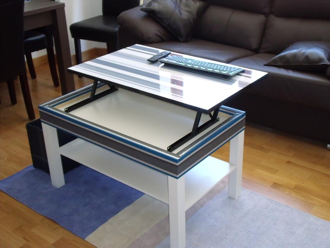 La mesa lack elevable de javier - Mesa de centro lack ...