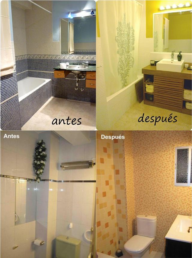 Resumen 2010 antes y despu s - Pintar azulejos cocina antes y despues ...