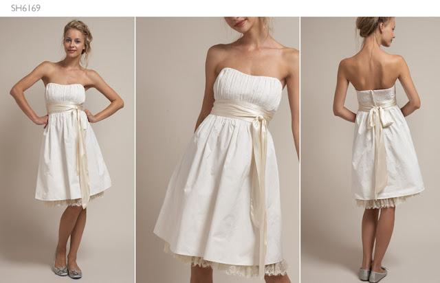 vestidos cortos 2011. de Novia Cortos 2011