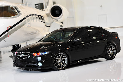 AutoMotion Photography Acura TL TypeS Hanger Photoshoot - Acura tl type s rims