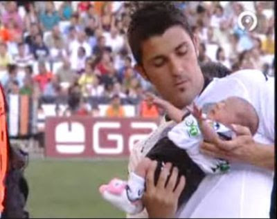 David+villa+wife+and+kids
