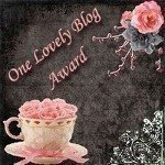 Premio OneLovelyBlogAward da Ilarietta,Laura (Dolci di Laura) e May (May26), Lidia (LadyCocca)