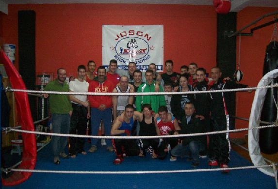 Jos n club the boxer impresionante for Gimnasio kronos