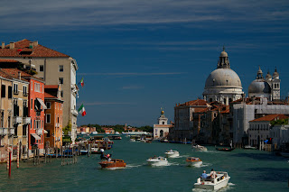 The Grand Canal photographed form the Academia Bridge