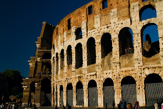 Exterior of the Colosseum - Rome, Italy