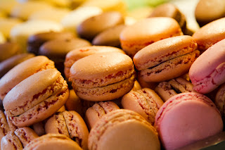 Macaroons at Stohrer - Paris, France