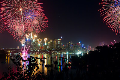 New Year's Day Fireworks - Sydney, Australia
